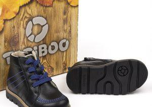 Ботинки Антрацит черный шерсть