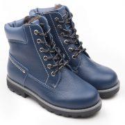 Ботинки Нью-Йорк синий Мех 1