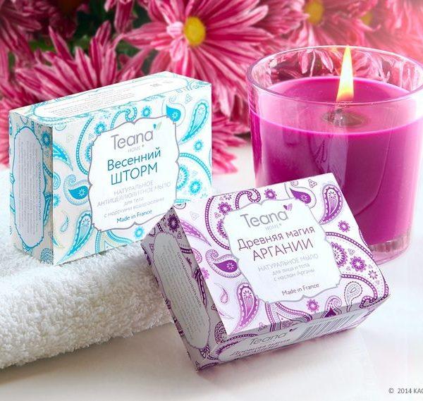 Натуральное мыло для лица и тела