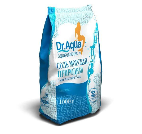 Соль морская природная 1 кг.